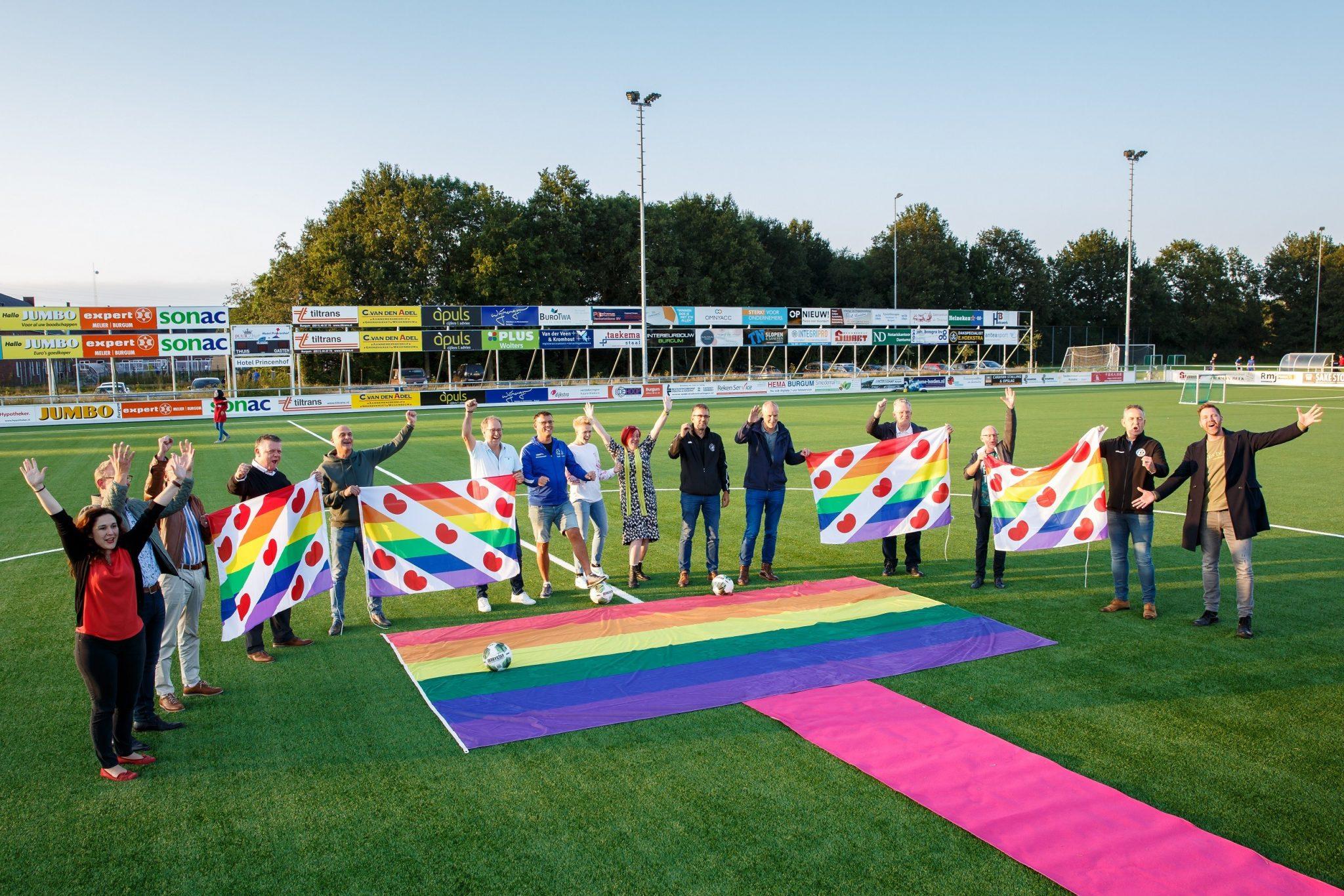 Plant jij ook online de Regenboogvlag