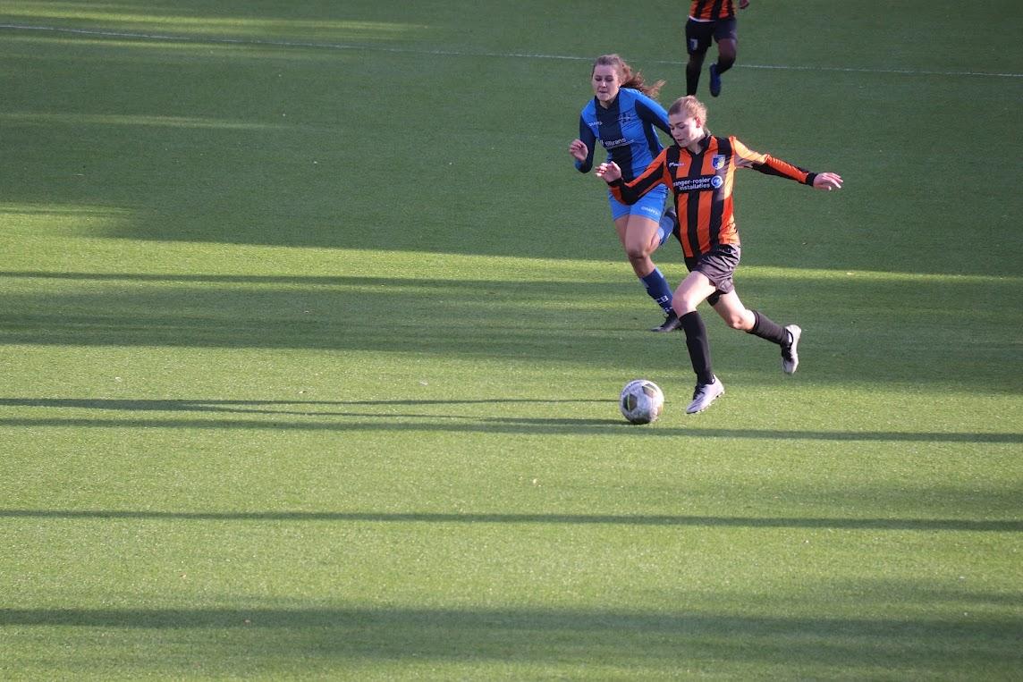 Vrouwen van Be Quick winnen ook tweede competitiewedstrijd (CSV Be Quick Vrouwen 1 - FC Burgum Vrouwen 1 uitslag 1-0)