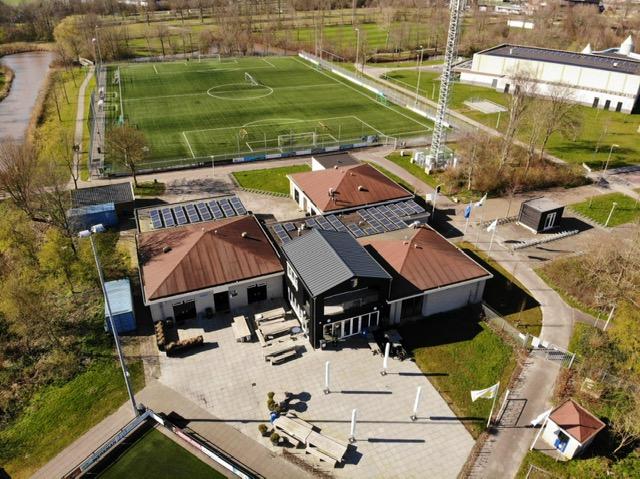 Drone foto's Tolhuispark gemaakt door Wiard Jelsma