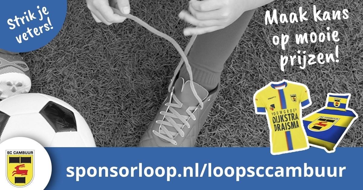 Rennen voor Be Quick Dokkum (Sponsorloop SC Cambuur)