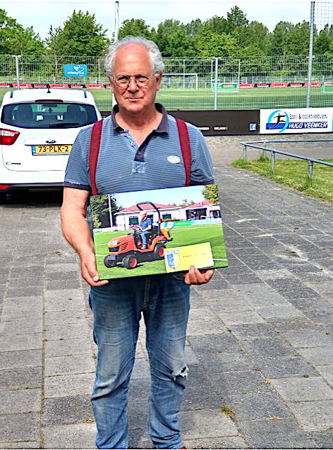 Hans Driessen nam vandaag afscheid als vrijwilliger van het onderhoudsteam!
