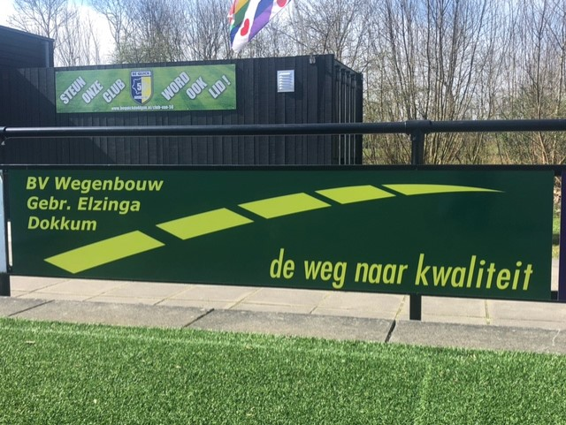 Ook de gebroeders Elzinga verbinden zich als sponsor aan Be Quick.