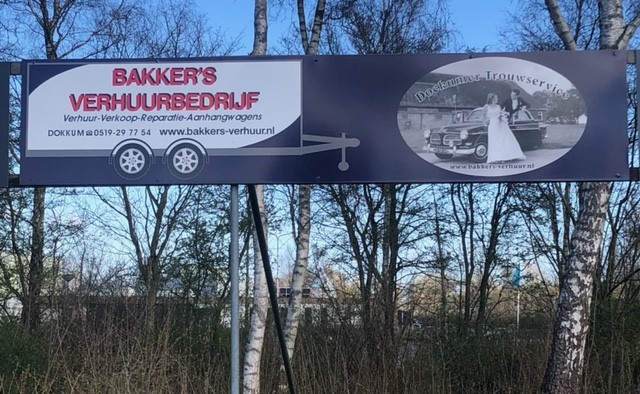 Ook Bakker's Verhuurbedrijf verlengt sponsorovereenkomst!