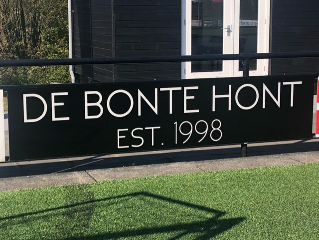 Nieuwe sponsor De Bonte Hont!